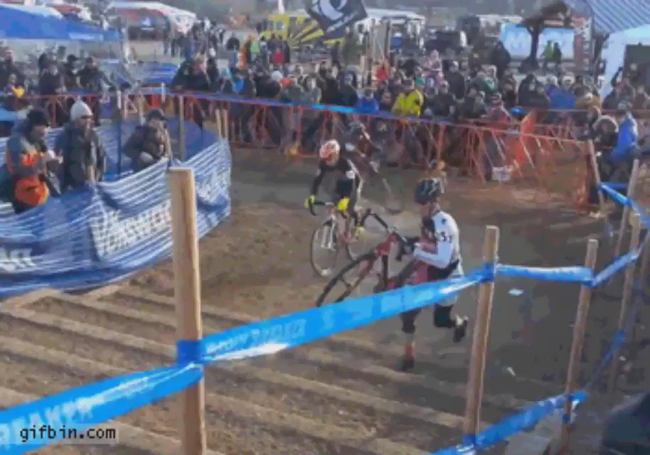 . @redbull gives you wings Lazer gives you springs! #cyclocross #CX #cycling #sport #bouncy https://t.co/zA56rCUvnC