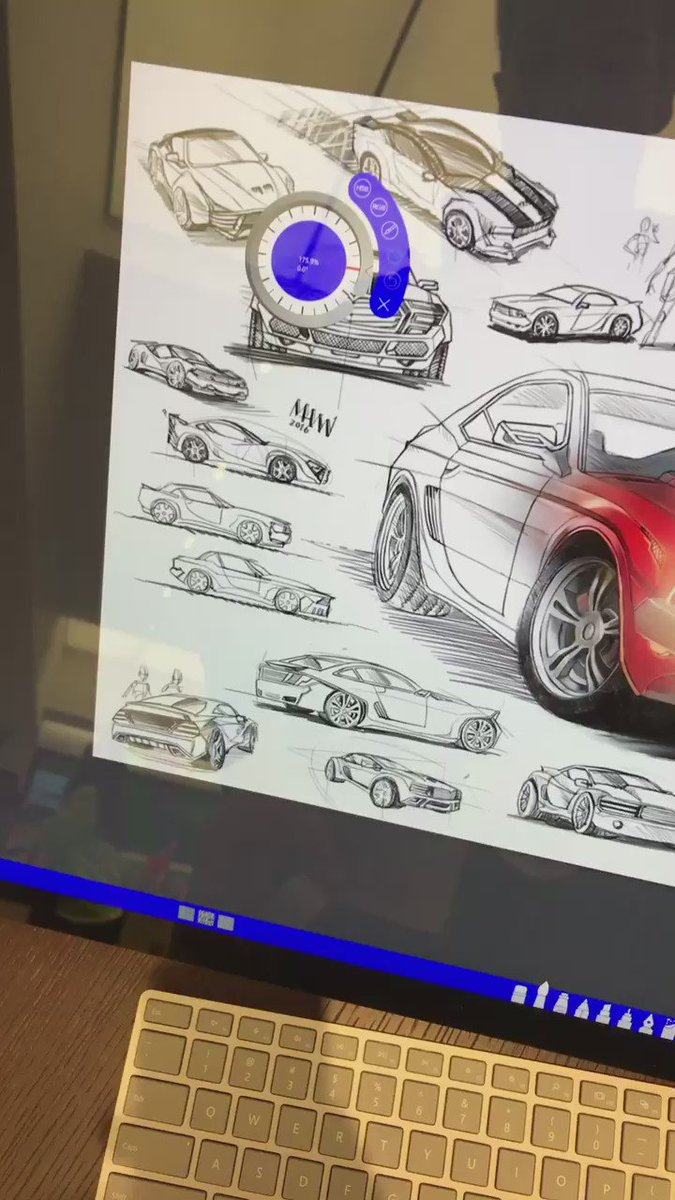 Surface Studio works great https://t.co/Ek2UeGtqVH