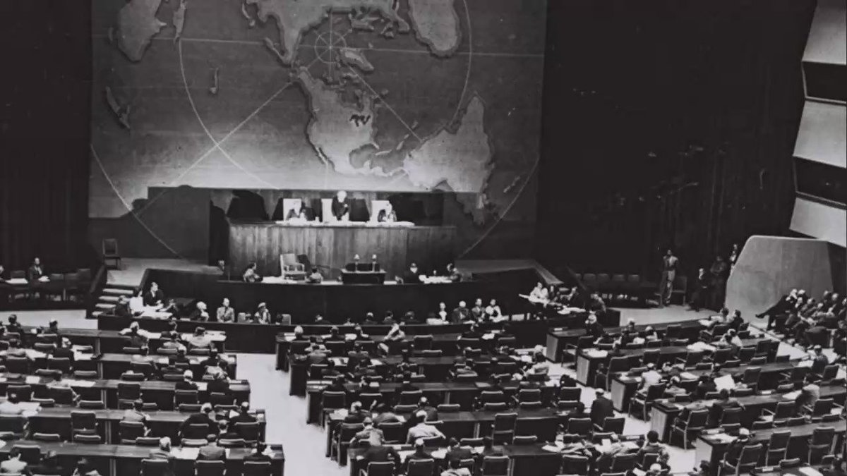 #OnThisDay (Nov 29) in 1947 the #UN passed res 181, which later led to the birth of the State of Israel.  ✅33 voted in favor ❌13 voted against 🤔10 abstained ❓1 absent  We're proud of Israel's achievements & contribution to the 🌎 in the last 72 yrs 🇮🇱
