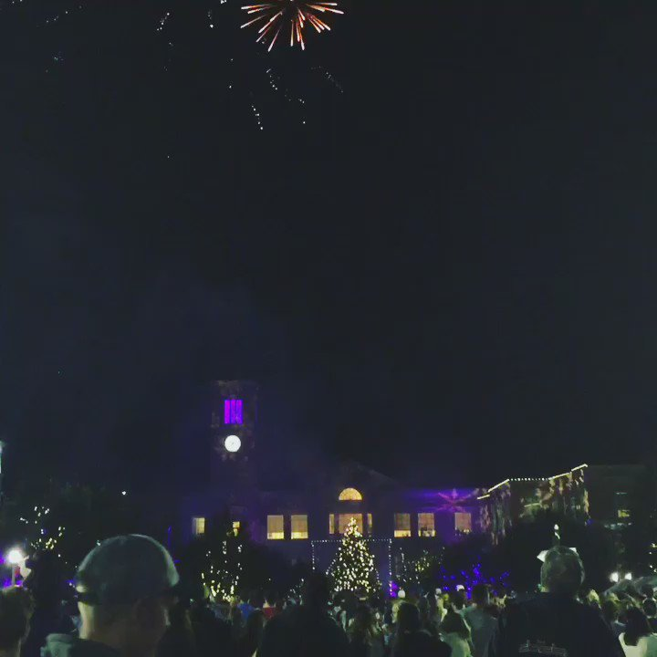 The happiest time of the year on campus has officially begun! #TCUChristmas