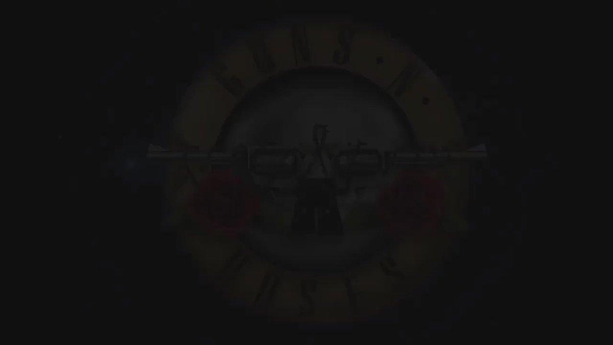 Guns N' Roses faz uma belíssima homenagem à #Chapecoense. #GnR – assista: