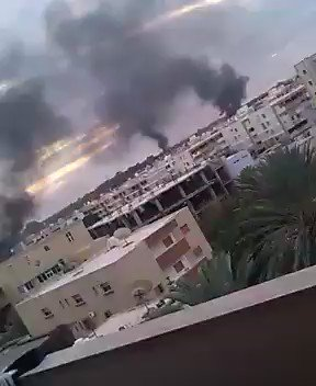 Escalation of violence in Libya's capital #Tripoli as rival Islamist militias clash with each other.. https://t.co/501mWcoo9o