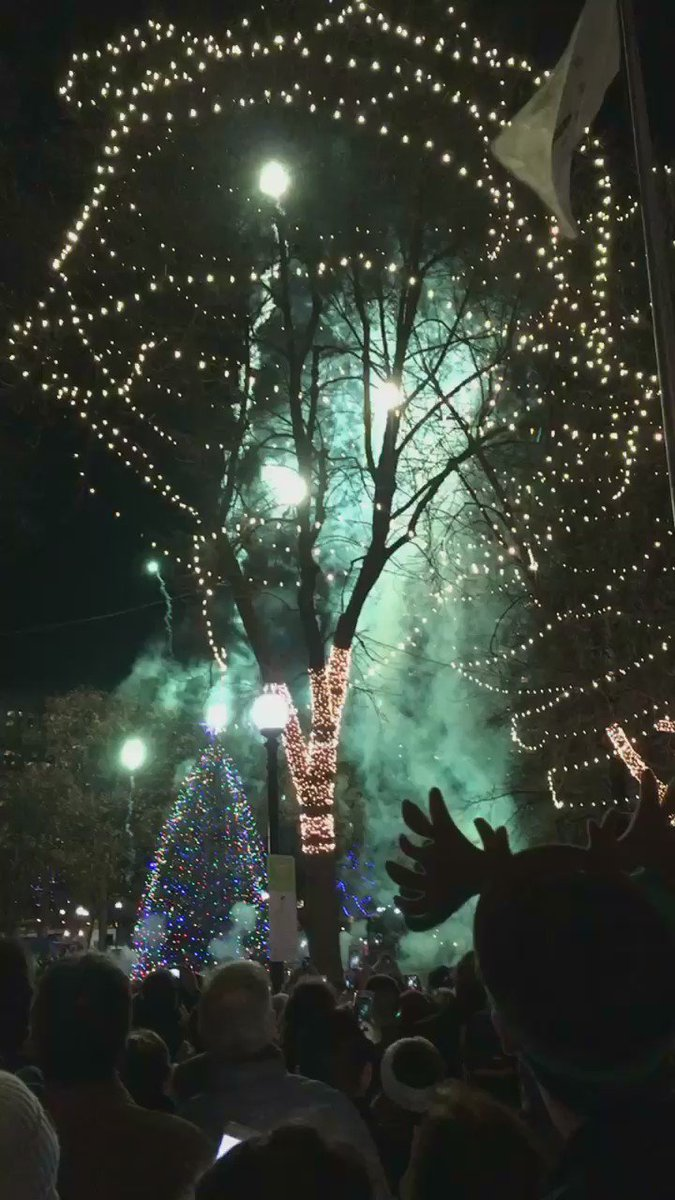 The 78th Annual Boston Common Tree Lighting - the tree from Nova Scotia - is Thursday from 6-8pm. Ceremony with Matt Nathanson is from 6-8pm, and tree lighting at 8pm.