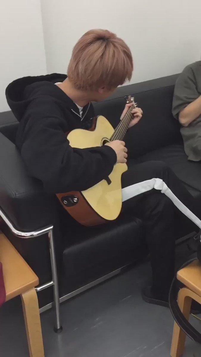 [OLD] 3 years ago today Hobi posted a video for Jin's birthday, of him playing the guitar! #JINDAY #HappyJinDay #JinOurHappiness @BTS_twt
