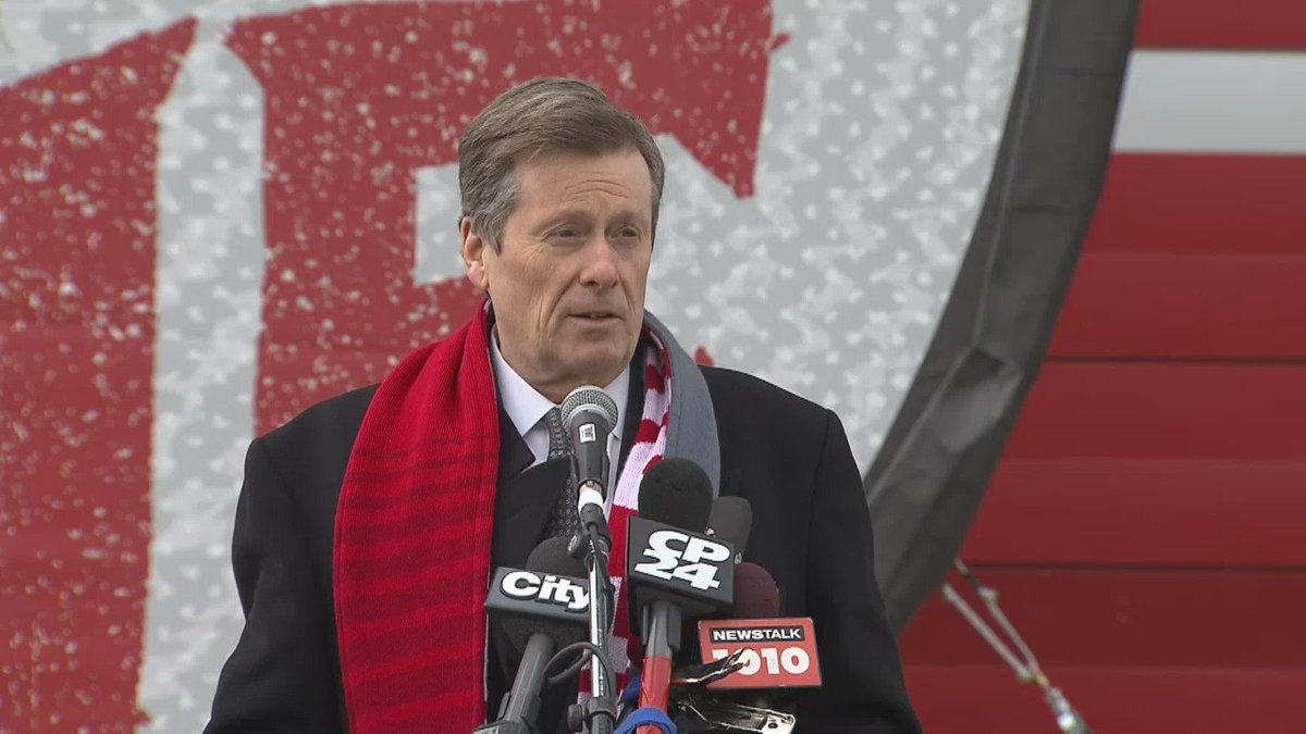 John Tory on friendly bet with mayor of Seattle for MLS championship game on Saturday