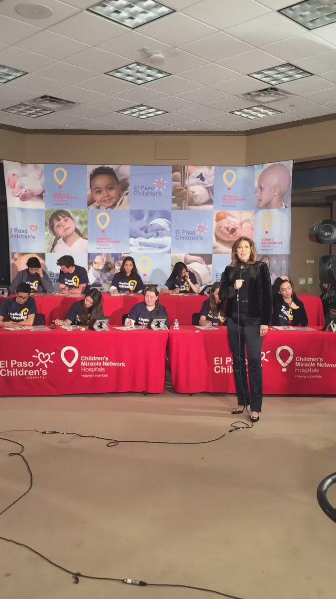 Dr. Alfredo Maldonado is matching donations. Get them in and help @ElPasoChildrens: 833-4477