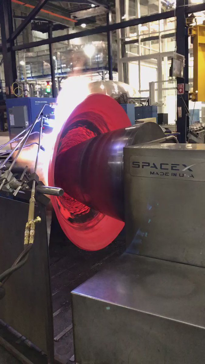 How SpaceX Makes Its Rocket Nozzles
