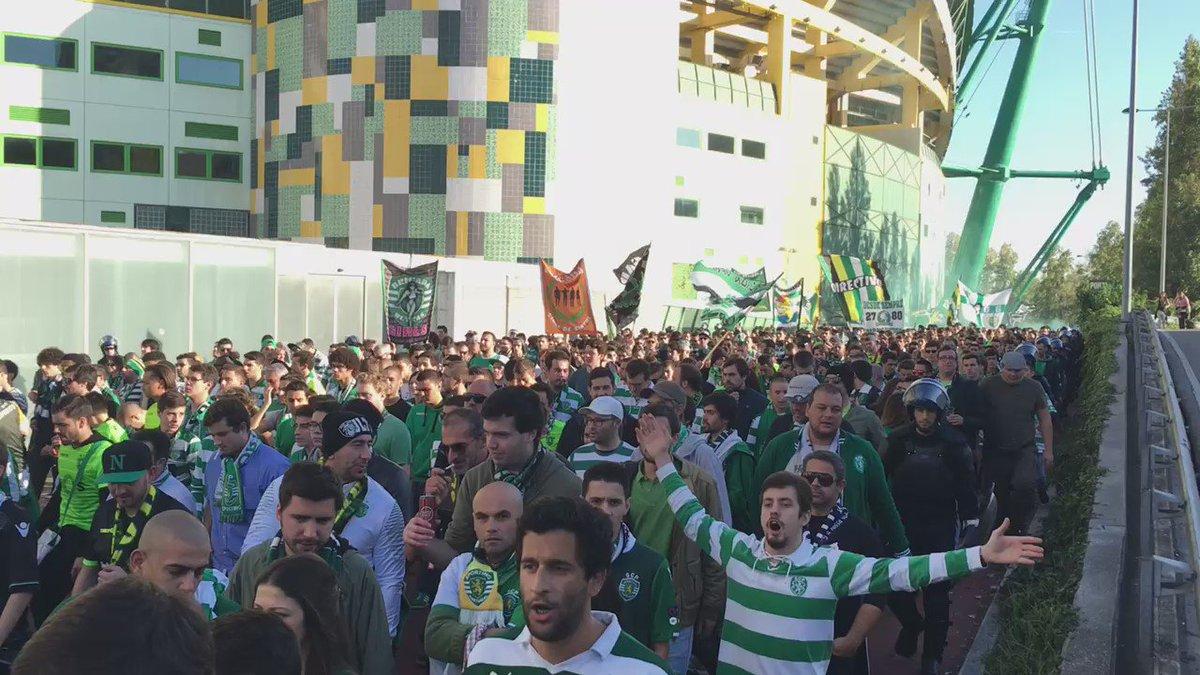 E aí vamos nós @Sporting_CP https://t.co/ourv4JSh3o