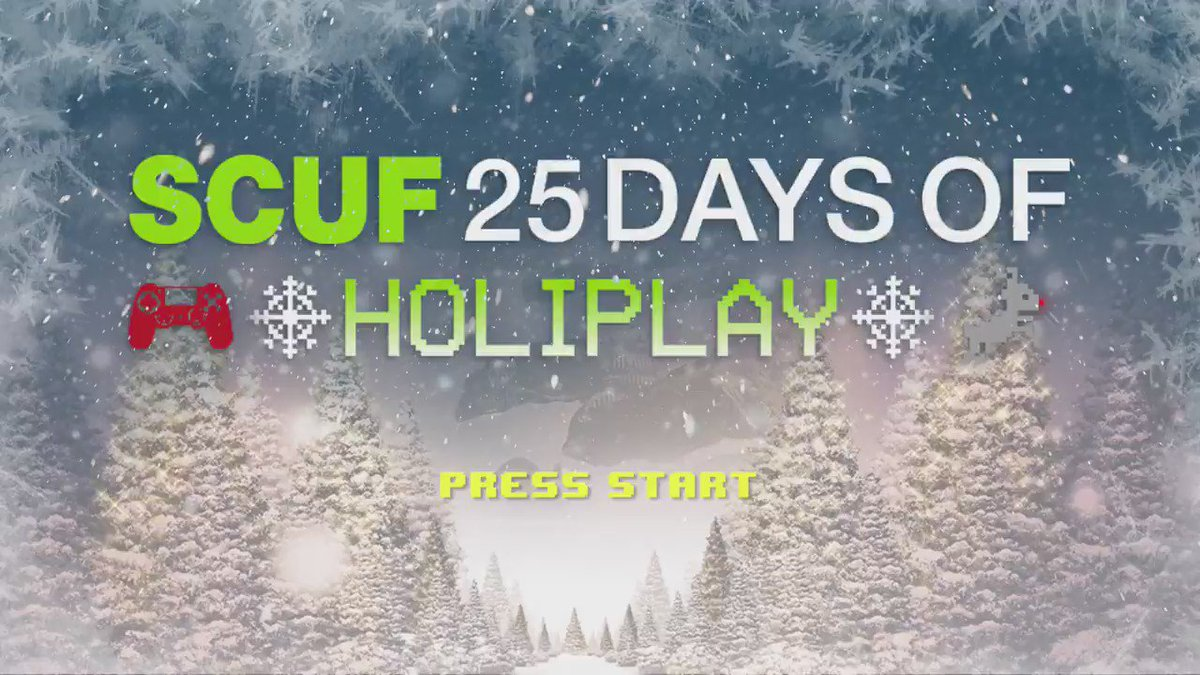 Win yourself a couple of bricks from the #GreenWall this year in @ScufGaming's 13th #HoliPLAYgiveaway!