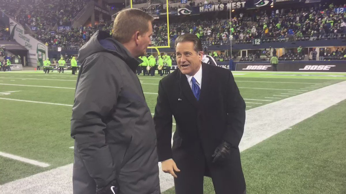30542328980 enjoy stevemariucci showing jim fassel the endzone where terrellowens once  took a sharpie out of his