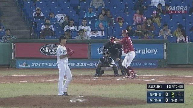 鈴木翔太 5回 9奪三振 無失点 AWB https://t.co/TxJqJlE1Jj
