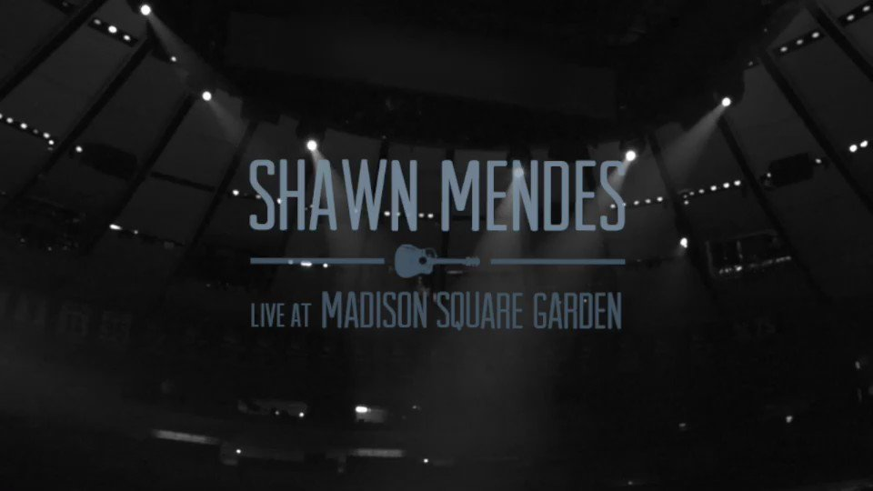 Shawn mendes on twitter live at madison square garden album coming this friday 12 23 for Shawn mendes live at madison square garden