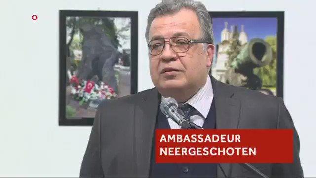 🇹🇷 #Turquie L'assassinat de l'ambassadeur russe en Turquie a été diffusé en direct à la télévision. (NOS) #Ankara