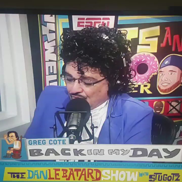 And today... THIS OMG.. COTE DID IT AGAIN @LeBatardShow lololoololololol https://t.co/87rtsPpFlF