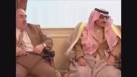 آخر جلسة للأمير نايف بن عبدالعزيز الله يرحمه ويغفر له. https://t.co/IrgAexMHNS
