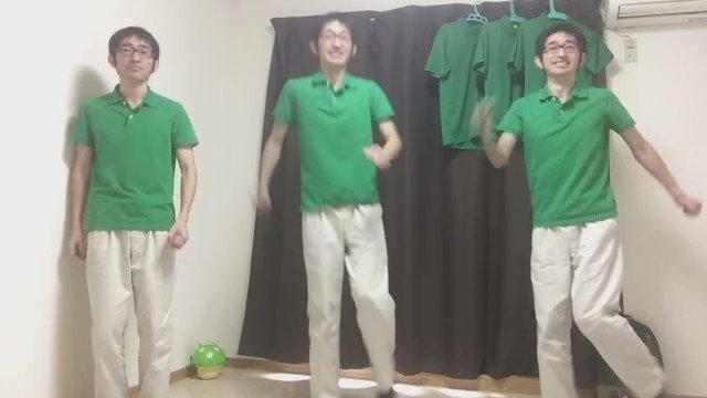 緑シャツおじさんで恋ダンスを踊ってみました お納めください