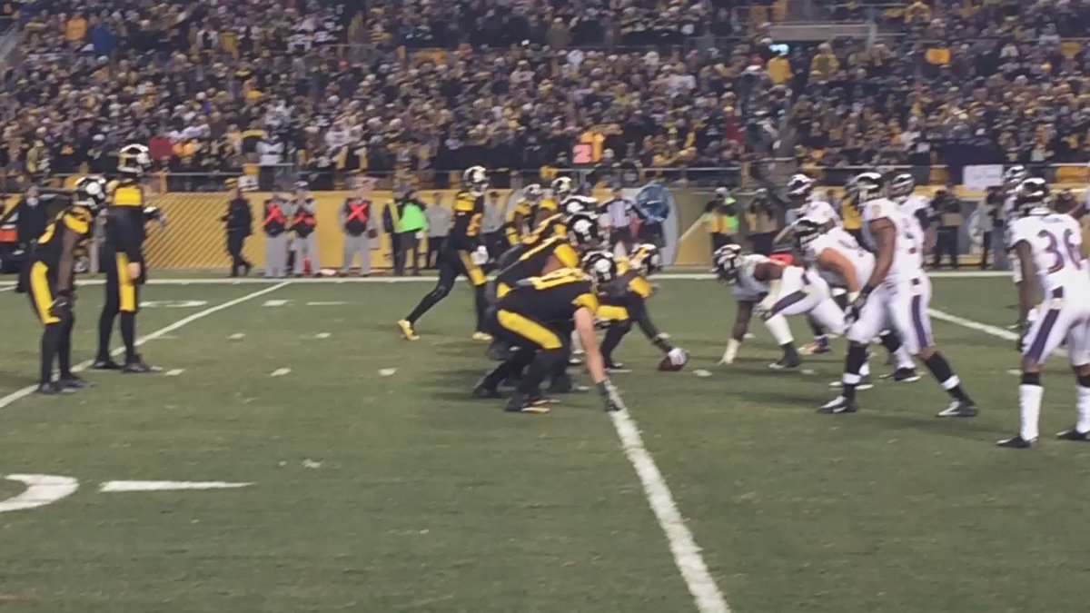 Touchdown #Steelers 31-27 over #Ravens 9 seconds left @WPXI https://t.co/8LGRfkGoYm