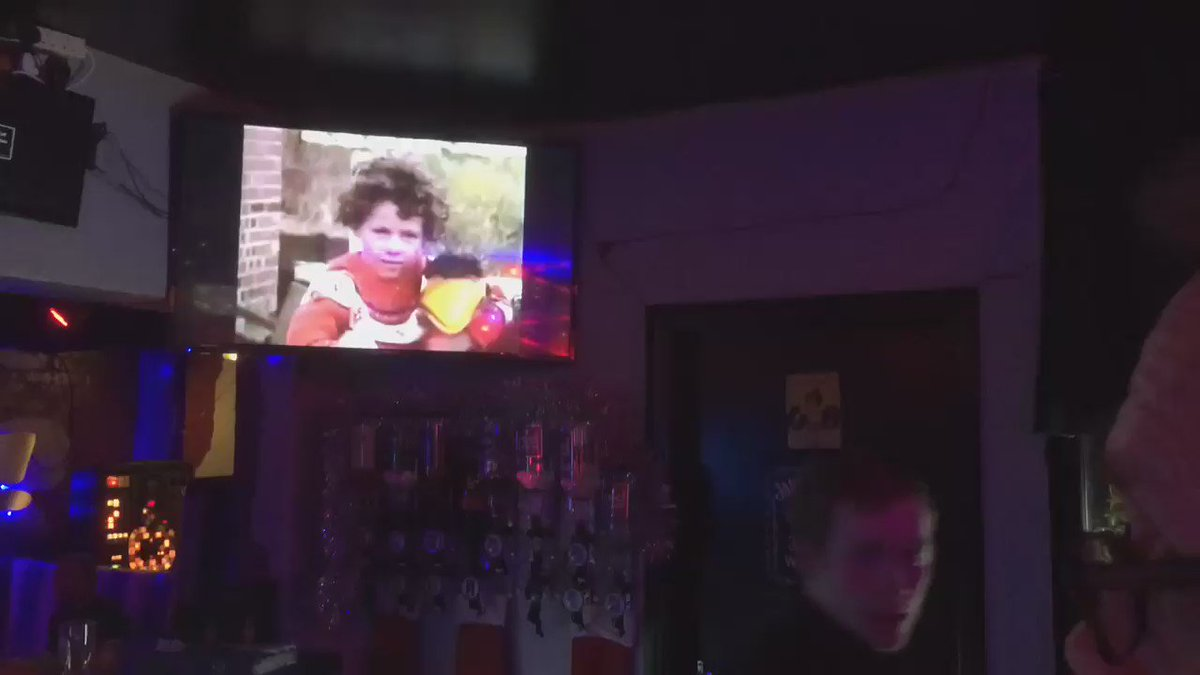 Hacked into the screens in a Blackpool gay bar and showed Emu's Broadcasting Company. https://t.co/5khX5cCHGa