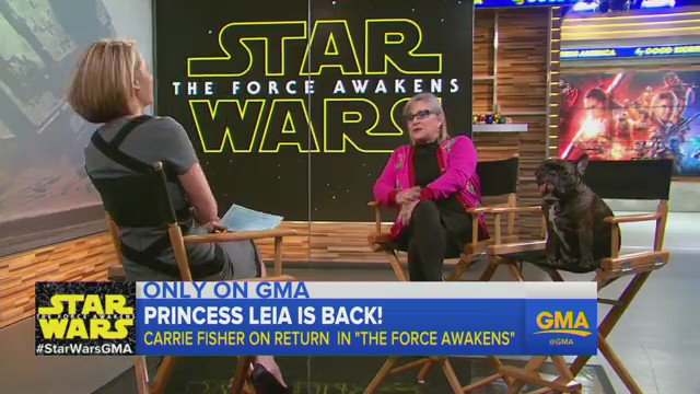Here's Carrie Fisher In 'One Of The Most Entertaining Interviews Ever'