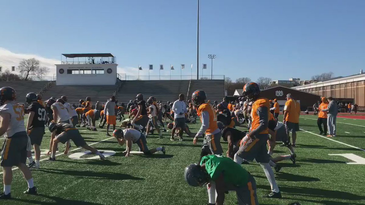 Tennessse holds first practice in Nashville