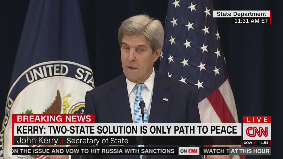 """Israel can either be Jewish or Democratic. It cannot be both."" - @JohnKerry https://t.co/5l4fTVu4in"