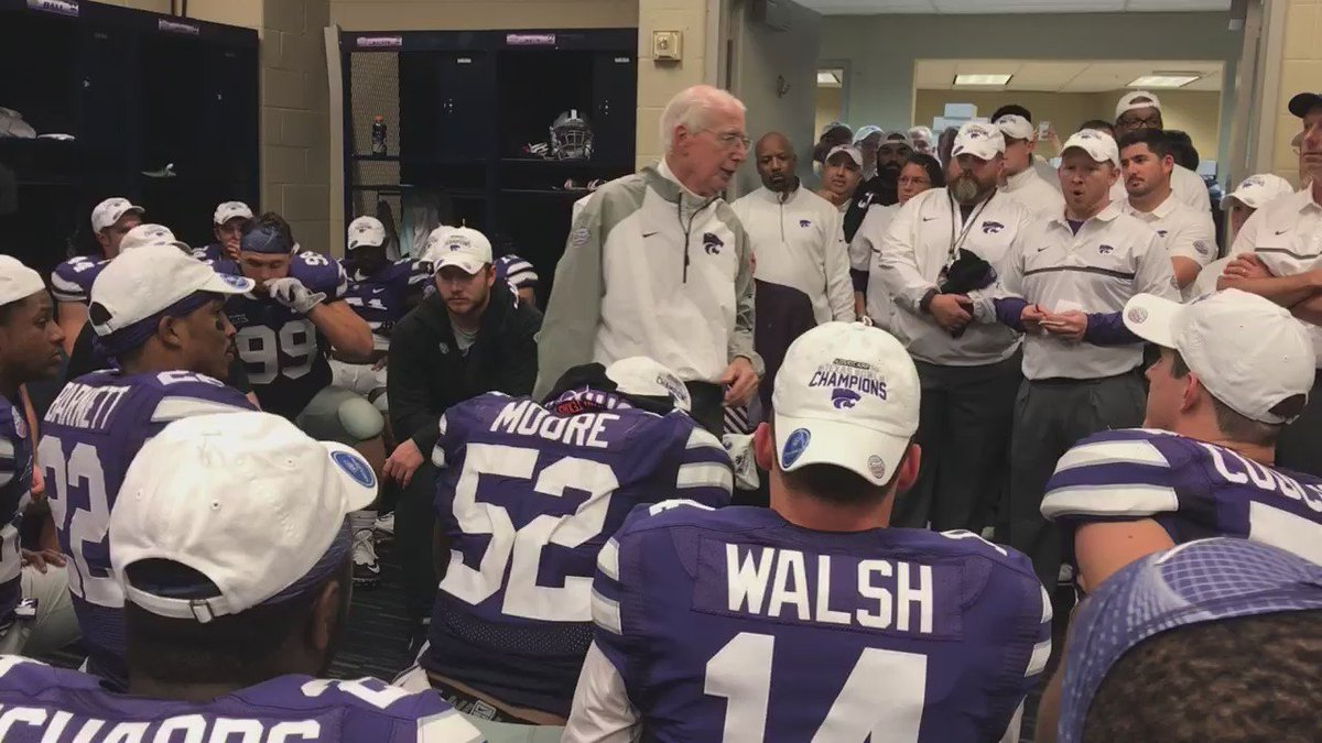 """When we do it as a #Family, good things happen."" - Bill Snyder https://t.co/TC7X7KjwFX"