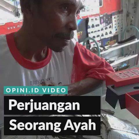 Kisah inspiratif seorang ayah di Medan. Jangan pernah lupakan jasa dan kasih Ayah! https://t.co/RjBHZ76x3Y https://t.co/uta5JGrhiH