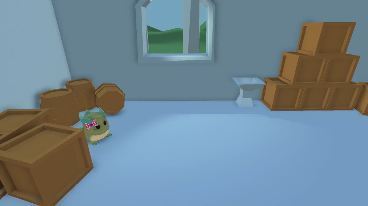 This is how babby dragons run around right? #gamedev #lowpoly
