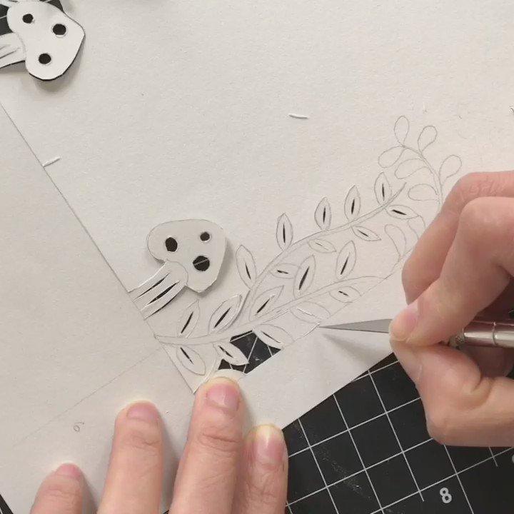 Happy birthday Hayao Miyazaki! #papercutting #totoro https://t.co/Cj5ni5g91Y