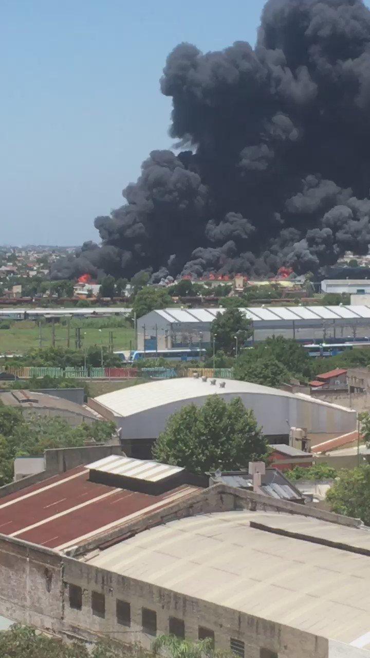 Thumbnail for Incendio en Avellaneda