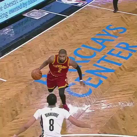KYRIE IRVING IS NOT HUMAN https://t.co/B8FGIUSwhB
