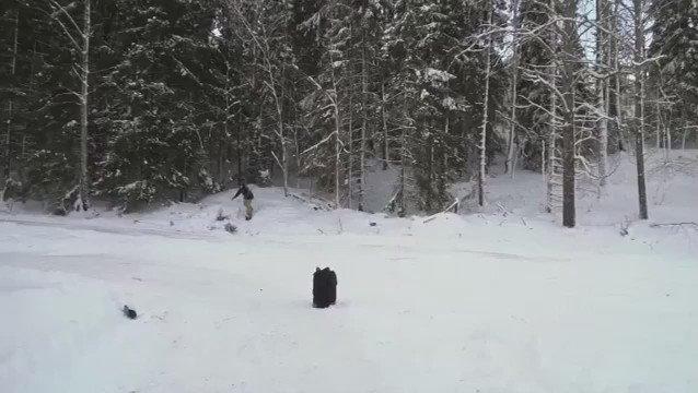 Snowboarder pulls a @kobebryant and backflips over a moving car. https://t.co/v3TFdE4WjL https://t.co/gcXnjGT126