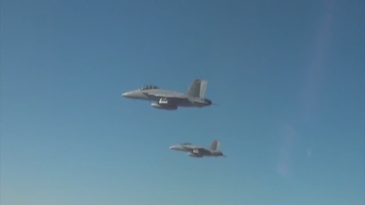 In Oct the US released 103 Perdix micro-drones from 3 F/A-18 Super Hornets to demo swarm behavior