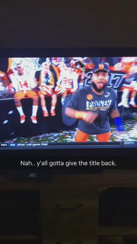 Gotta give the whole title back now. 😂😂