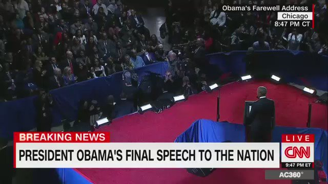 "Malia Obama kept tearing up as she listened to her dad's farewell speech. ""I am most proud to be your dad."" https://t.co/pHrba2WxO8"