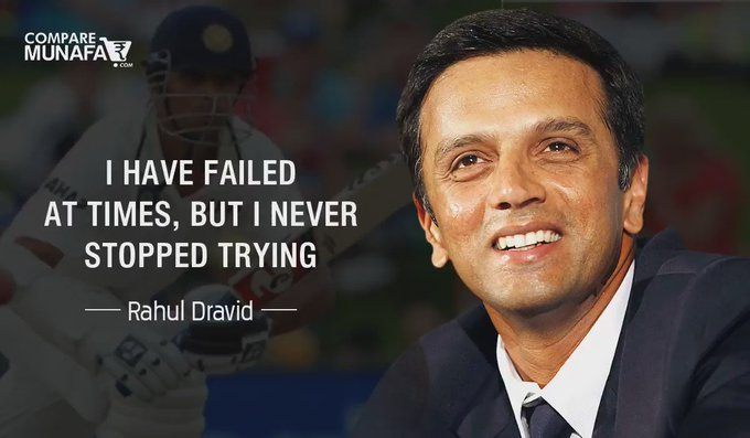 The Wall Of Indian Cricket, Happy Birthday Rahul Dravid !!