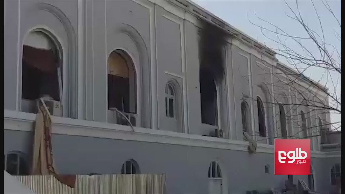 Footage taken Wednesday of the Kandahar guesthouse in the aftermath of Tuesday night's deadly attack that left 11 dead