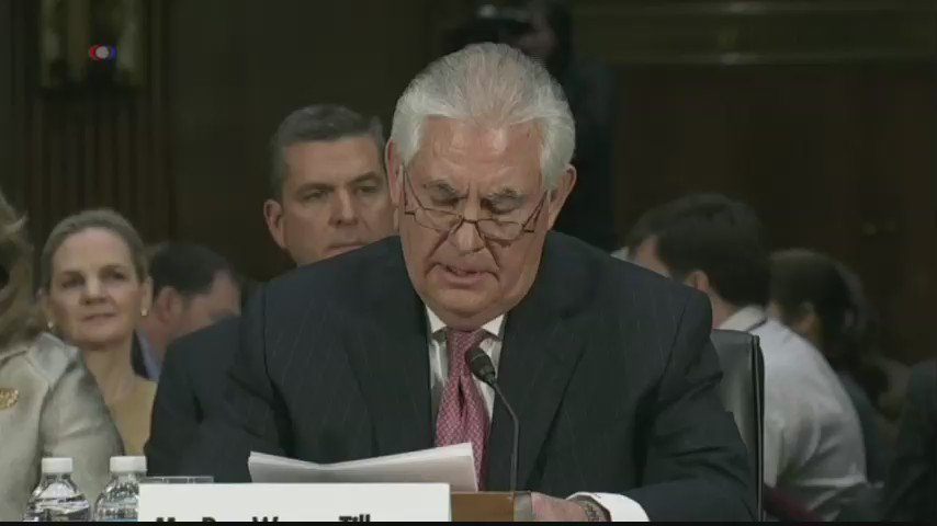 Rex Tillerson: Radical Islam poses a grave risk to the stability of nations and the well-being of their citizens.