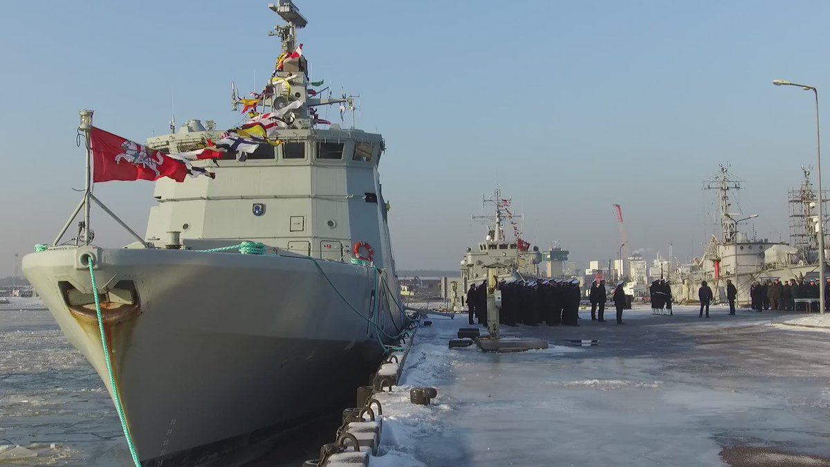 Lithuania: P15 Selis Patrol Ship has been inaugurated