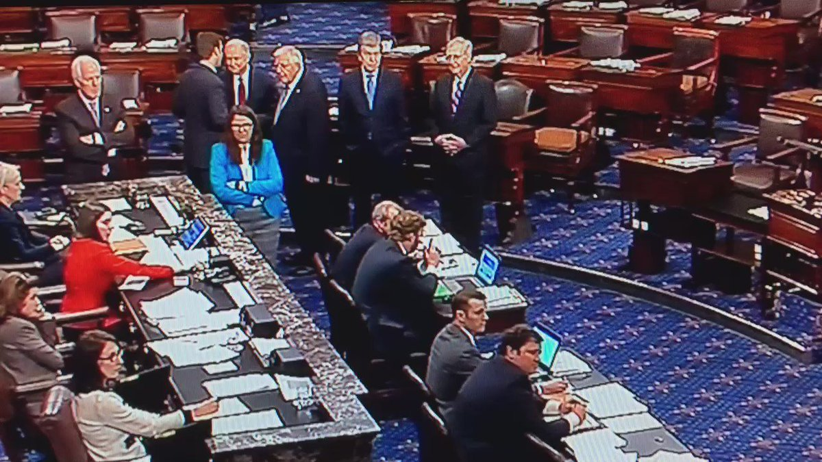 VIDEO: Here is how the Democrats' vote-a-rama rules protest of repeal effort unfolded on Senate floor after 1am https://t.co/r34Gyempeo
