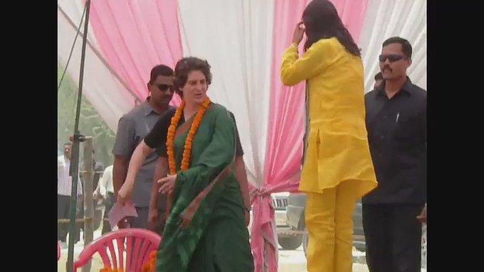 Happy birthday priyanka gandhi ji:sadhna bharati(national star campaigner congress)