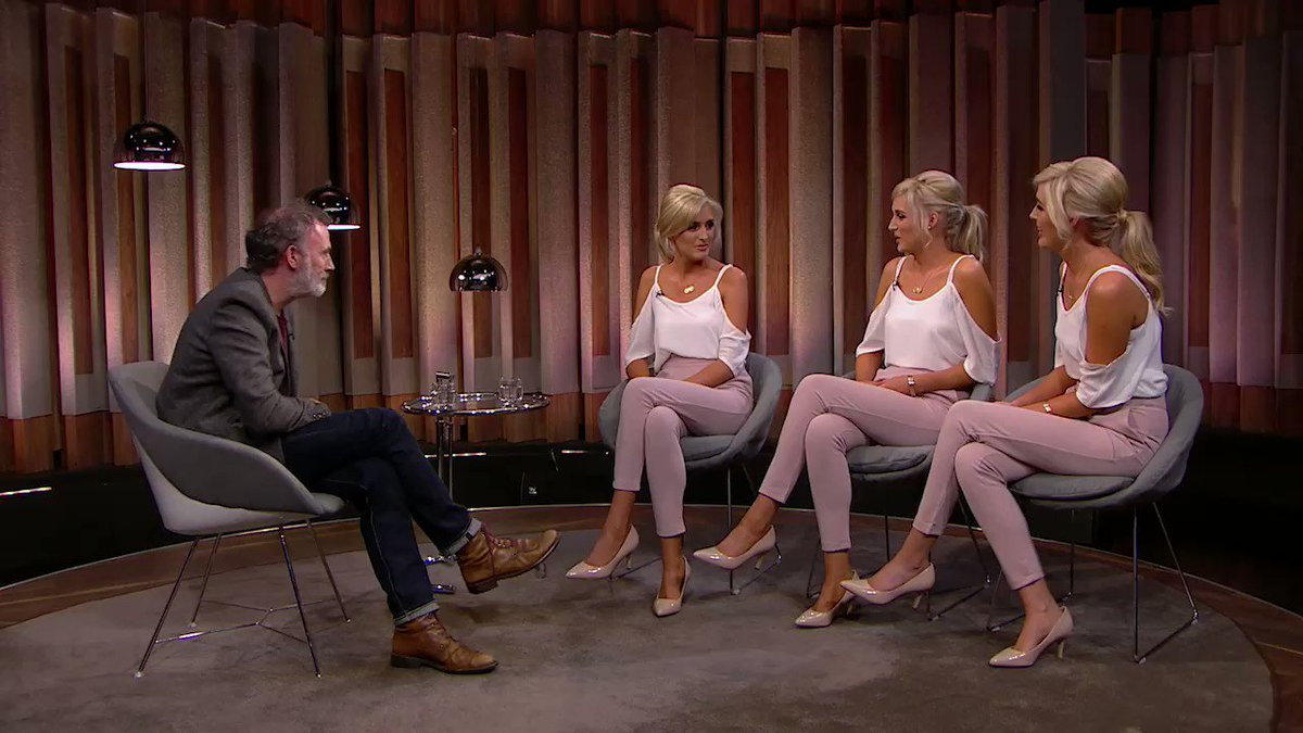 Another clip of The Tommy Tiernan Show with the Crimmins triplets! https://t.co/iYXMwEegI5