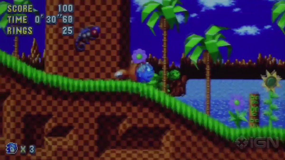 IGN plays Sonic Mania. https://t.co/s1IETVFl2c