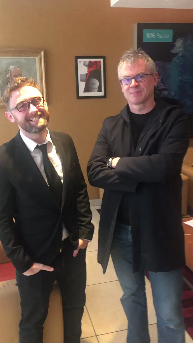 After our @RTERadio1 show just now @JoeBrolly1993 bumped into his alter ego @ConorsSketches https://t.co/xxz1PVq0Bf