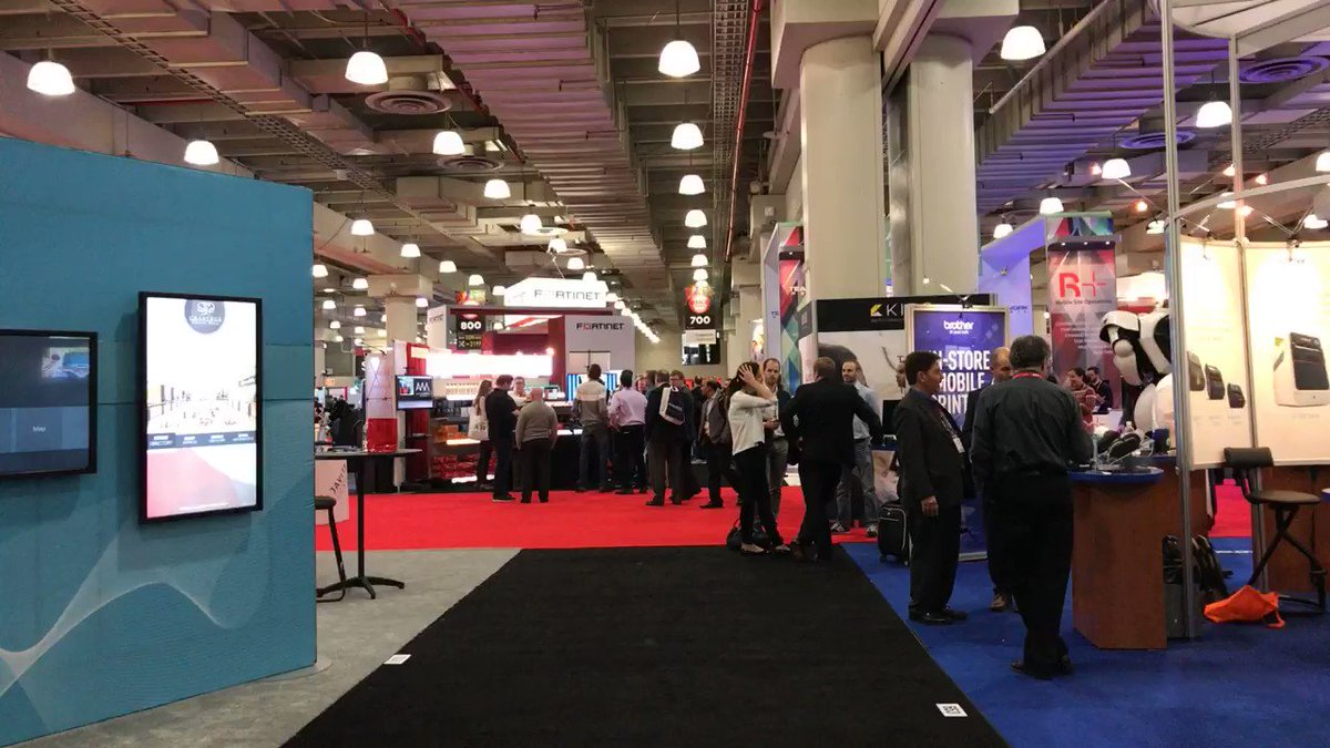 What it's like to walk #NRF17 with me https://t.co/pcifLWolNO
