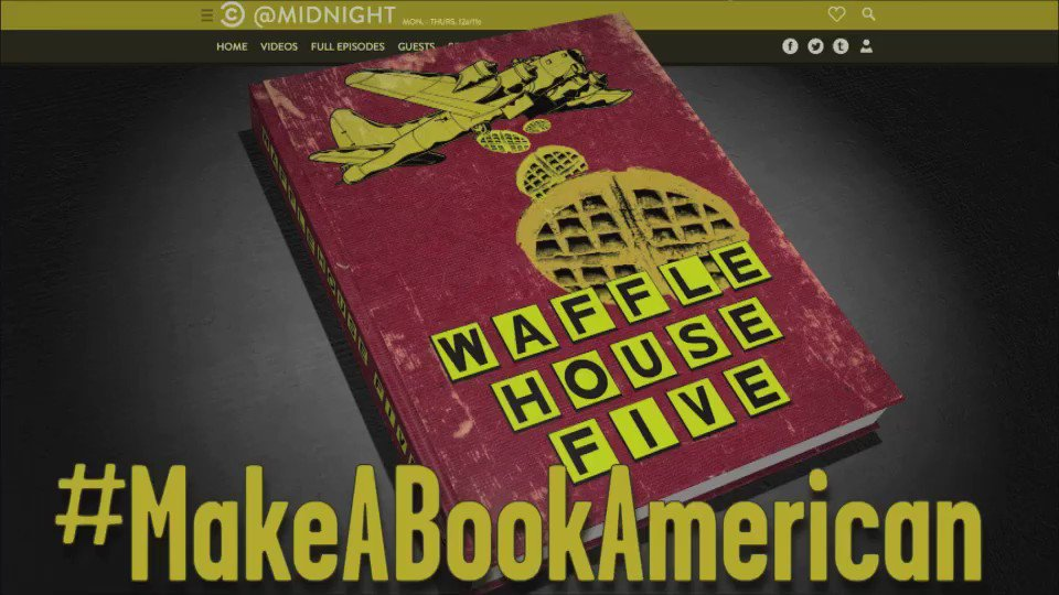 Tonight we're playing #MakeABookAmerican! Grab a flag and get hashtagg...
