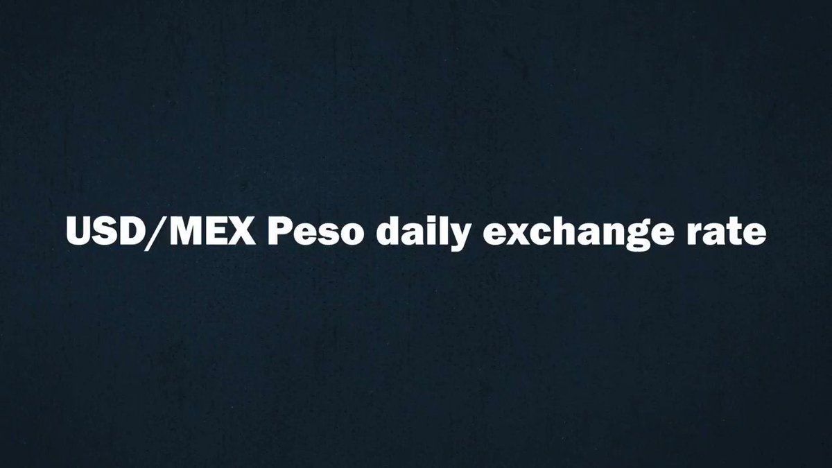 Watch how the Mexican Peso has depreciated since the US Presidential election @bollemdb https://t.co/IeroVqpDLC