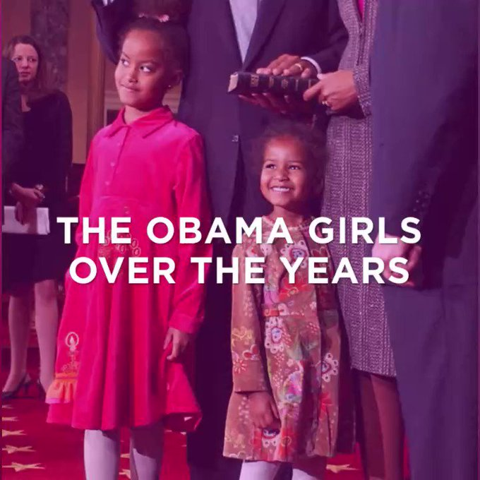 We've literally watched Malia and Sasha Obama grow up right before our eyes! https://t.co/RCnmVVxI9u #BlackGirlMagic