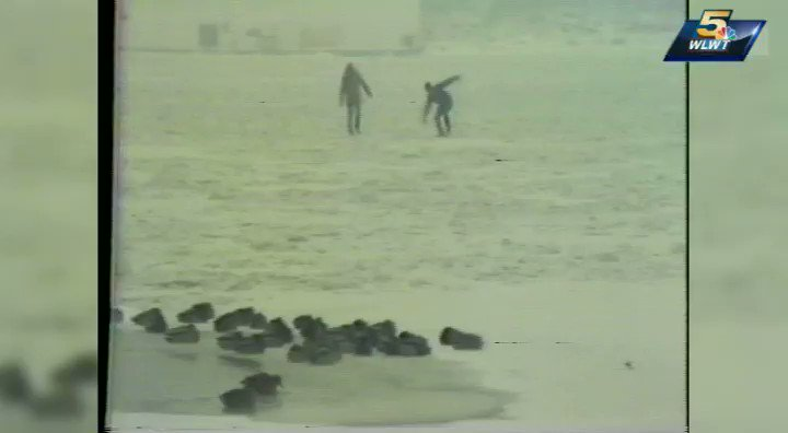 #TBT: January of 1977: Here's a story WLWT aired 40 years ago when the mighty Ohio River froze. https://t.co/R67yfciz1X