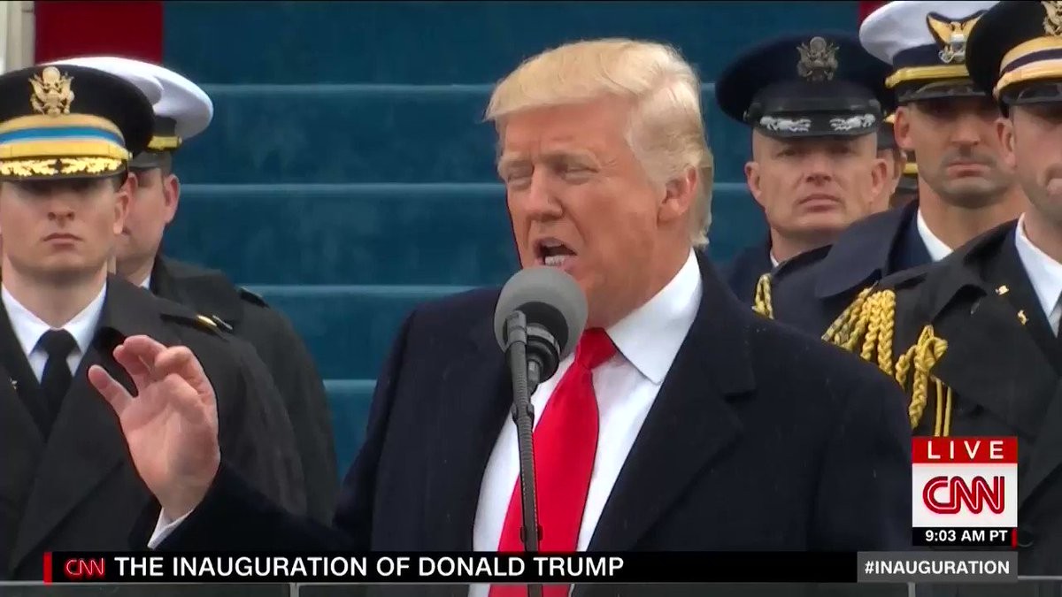 Guys... Donald Trump quoted Bane in his #Inauguration speech! https://t.co/tVZQ4ppgPK